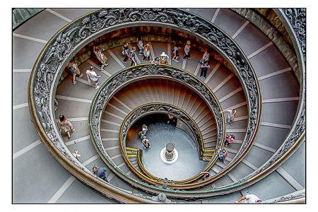 Escada do Museu do Vaticano